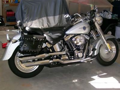 2002 Harley Fat Boy Clean Fat Boy Motorcycle