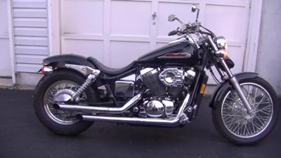2002 Honda Shadow Spirit