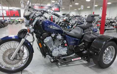 2002 Honda Shadow Trike Motorcycle Conversion (this photo is for example only; please contact seller for pics of the actual motorcycle for sale in this classified)