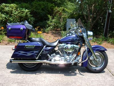 02 Harley Davidson Road King Screamin' Eagle with tour pack