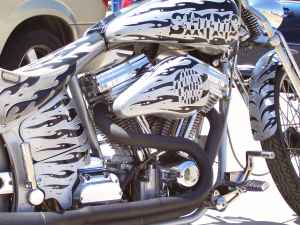 2003 Custom Ron Simms Motorcycle for Sale