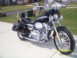 2003 Harley Davidson Sportster 883 Hugger XLH 1200 (Not the one in this ad)