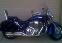 2003 honda vtx 1800r illusion blue accessories
