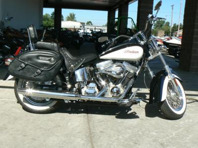 White and Black 2003 Indian Spirit Roadmaster (this photo is for example only; please contact seller for pics of the actual motorcycle for sale in this classified)