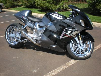 2003 Suzuki Hayabusa  (this photo is for example only; please contact seller for pics of the actual motorcycle for sale in this classified)