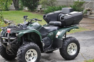 2003 Yamaha Grizzly 660 4x4 with TJD Snow Tracks