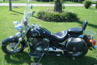 2004 yamaha vstar 650 motorcycle paint black