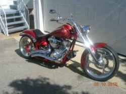 2004 Big Dog Mastiff Custom Motorcycle Paint and Serpentine Vance & Hines Exhaust