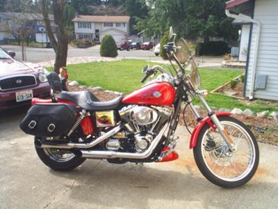 2004 Harley Davidson Dyna Wide Glide FXDWGI