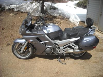 Pewter Gray 2004 Yamaha FJR1300 (example of  bike for sale)