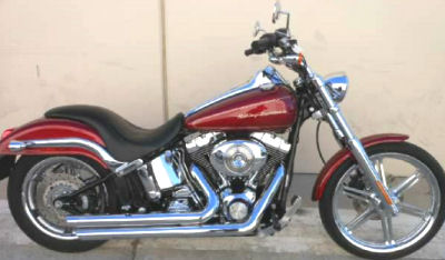 2004 Harley-Davidson FXSTD/FXSTDI Softail Deuce Deep Red Metallic Paint Color