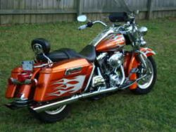 2004 Harley Davidson Road King FLHRI Tribal Custom Motorcycle Paint Job