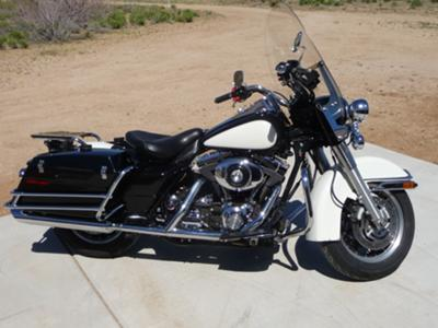 2004 Harley Davidson Road King FLHP Police Bike