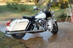 2004 Harley Davidson Road King Police Motorcycle