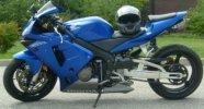 Royal Electric Blue 2004 Honda CBR 600RR
