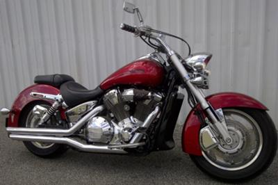 Candy Red 2004 Honda VTX 1800N 1