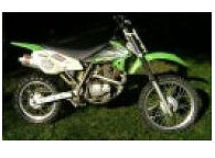 2004 Kawasaki, KLX 125 4 stroke dirt bike with Big Gun Exhaust System
