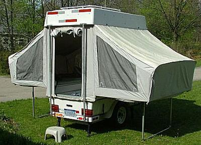 2005 Aspen Ambassador Camper Trailer