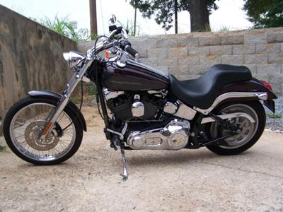 2005 Harley Davidson Deuce w Black Cherry Pearl and Grey (Gray) paint color