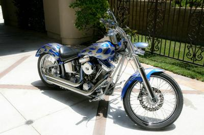 2005 Harley Davidson Softail w Gray Paint Color (this photo is for example only; please contact seller for pics of the actual motorcycle for sale in this classified)