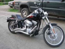 2005 Harley Davidson Softtail (this photo is for example only; please contact seller for pics of the actual motorcycle for sale in this classified)