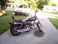 Black Cherry 2005 Harley Davidson Wide Glide
