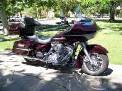Black Cherry Paint  2005 Harley Davidson Road Glide
