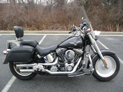 2005 Harley-Davidson Softail FatBoy (this photo is for example only; please contact seller for pics of the actual motorcycle for sale in this classified)