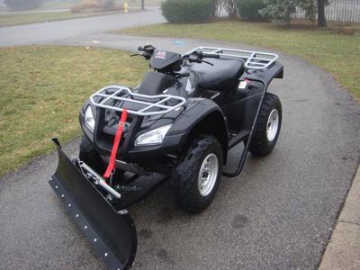 2005 Honda Rincon 4WD TRX 650 with Snow Plow