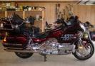 2006 honda goldwing Goldwing GL1800 Audio black cherry burgundy