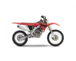 Red Honda Crf250x