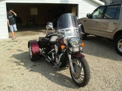 2006 Honda 1300 BTX with Trike Kit
