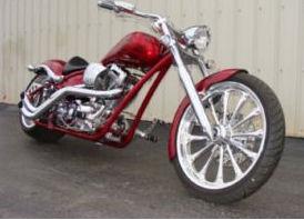 2007 big dog custom mastiff motorcycle