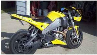 Yellow 2007 Buell Firebolt XB12r 1203cc