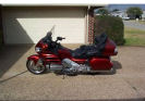 2007 Honda Gold Wing GL 1800 Dark Metallic Orange