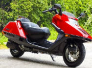 2005 honda helix scooter red automatic