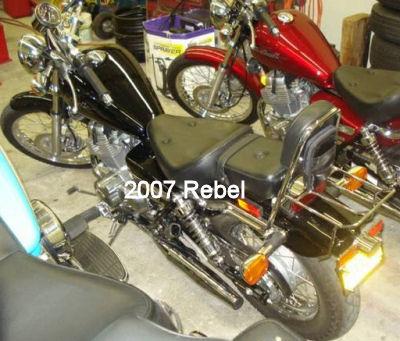 2007 Honda Rebel