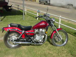 2007 Honda Rebel  250  (NOT the one for Sale in the Ad)