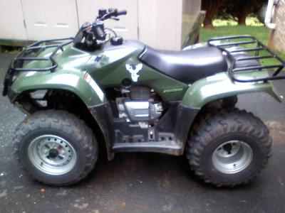 2007 HONDA RECON 250 ATV Quad 4 Wheeler (this photo is for example only; please contact seller for pics of the actual quad for sale in this classified)