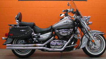2007 Suzuki Boulevard C90T C90 Twith Silver Paint Color