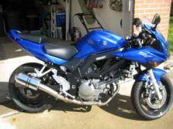 Royal Cobalt Blue 2007 Suzuki  SV650s