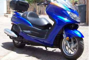 2007 Yamaha 400 Majesty Scooter (this photo is for example only; please contact seller for pics of the actual motor scooter for sale in this classified)