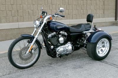 2008 Harley Davidson XL1200 Sportster Trike Conversion