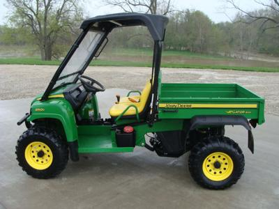 2008 JOHN DEERE GATOR 850 D 4X4 (this photo is for example only; please contact seller for pics of the actual UTV for sale in this classified)