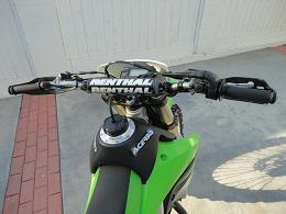 Neon Lime Green 2008 Kawasaki KLX 450R Dirt Bike
