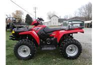 2008 Polaris Sportsman 500 HO w red paint color