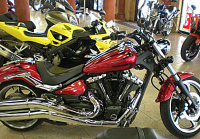 2008 Yamaha Raider Motorcycle