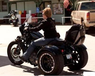 2009 Harley Davidson Nightster Sportster Trike conversion