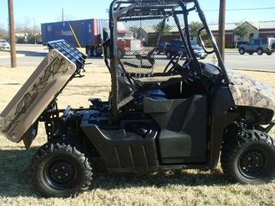 2009 Honda Big Red MUV  (this photo is for example only; please contact seller for pics of the actual Honda ATV for sale in this classified)