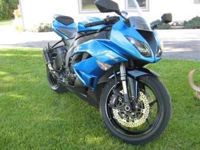 2009 Kawasaki Ninja ZX6R Monster For Sale